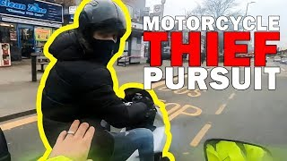 MOPED THIEVES PURSUIT | STUPID, CRAZY & ANGRY PEOPLE vs BIKERS |  [Ep. #278]