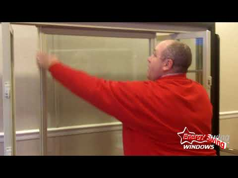 Energy Swing Window's Three-Panel Slider Demonstration