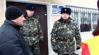 Інтервю командира військової частини А 2042 автомайданівцям Волині 30.01.2014