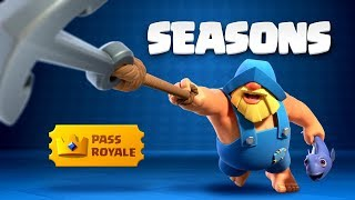 Clash Royale: Introducing Pass Royale & Seasons! 👑