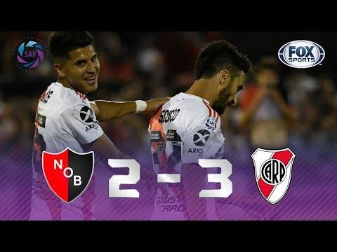 VIRADA DOS MILLIONARIOS! River Plate vence Newell's Old Boys em jogaço!