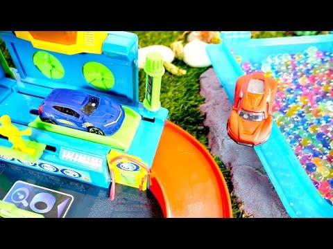 ¡Juegos de Lavar Autos y Carros: coches de juguete van al lavado de autos! Lavar carros juegos