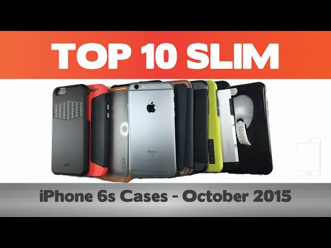 Top 10 Slim iPhone 6 (s+) Cases -  October 2015 - Thule, Loopy, Pong
