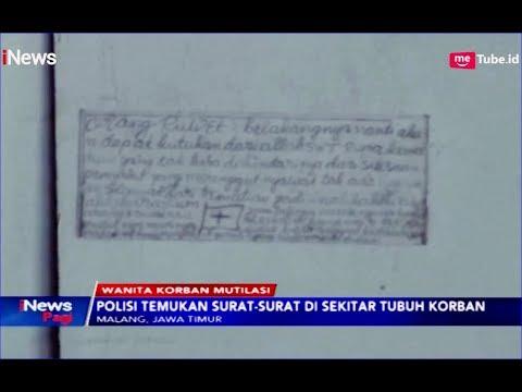 Polisi Temukan Sejumlah Surat di Sekitar Tubuh Korban Mutilasi di Malang - iNews Pagi 15/05