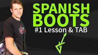 How To Play Spanish Boots Guitar Lesson & TAB by Joe Bonamassa
