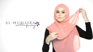 Lujaa shawl styling tutorial by al-humaira contemporary youtube.