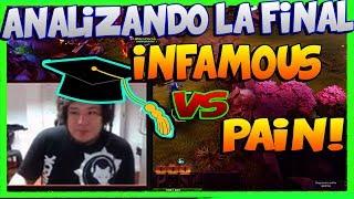 KINGTEKA 🕹️casteando la final INFAMOUS vs PAIN   mejores EQUIPOS de latinoamerica DOTA 2 GAME