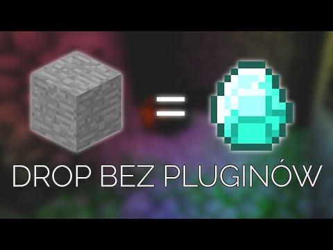 DROP ze STONE bez pluginów w Minecraft (1.13 i 1.14)!