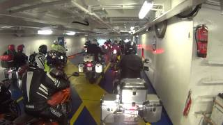 DFDS Ferry  Newcastle ijmuiden 9 juni 2013