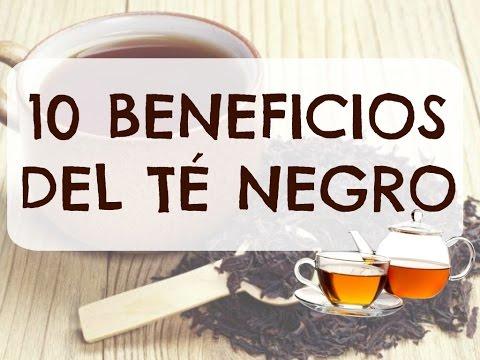 10 BENEFICIOS DEL TE NEGRO