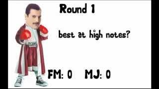 Michael Jackson vs Freddie Mercury
