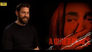 John Krasinski on A Quiet Place, Jaws & why his horror is different - Video Youtube