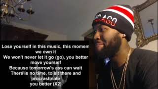 Eminem - Lose Yourself (Demo Original Version) - REACTION