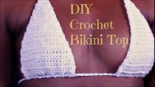 DIY | How To Make A Crochet Bikini Top