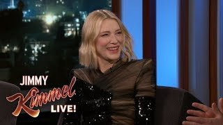 Cate Blanchett Thinks Americans Should Use the Metric System - Video Youtube