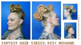 Fantasy Hair Series: Disc Mohawk