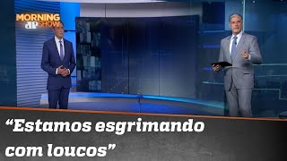 William Bonner desabafa contra o negacionismo | Morning Show