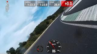 ALES 23/06/2019 Personnal best lap 1'23 GSXR 1000 K5