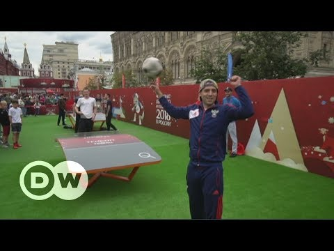 World Cup 2018: Moscow's Red Square goes green | DW English