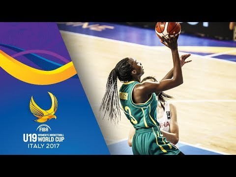 China v Australia - Live - Classification 5-8 - FIBA U19 Women's Basketball World Cup 2017