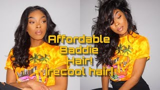 Straight Brazilian Human Hair Weave With Frontal Recool Hair Review