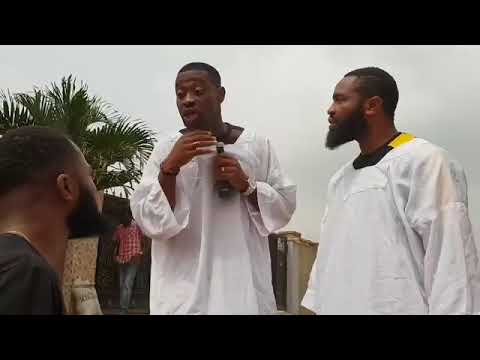 Woli Arole and Lateef his Igbo Apperentice are back again See what he did to a guy in search for job