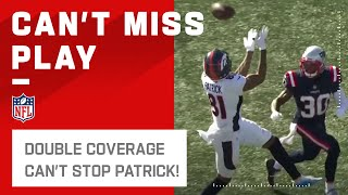 Tim Patrick Makes the 35-Yd Grab in Double Coverage! by NFL