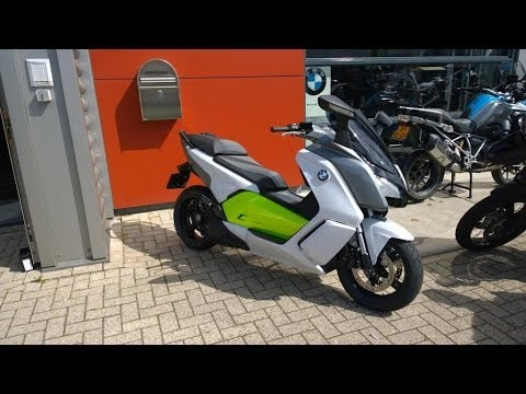 BMW C Evolution short acceleration and top speed test