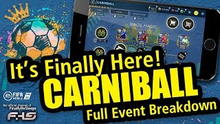 CARNIBALL is here in FIFA Mobile 19 - FINALLY! - F2P Event Breakdown