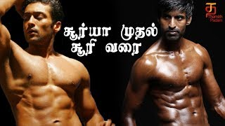 Best Ever Six Pack Bodies of Kollywood Actors | Thamizh Padam
