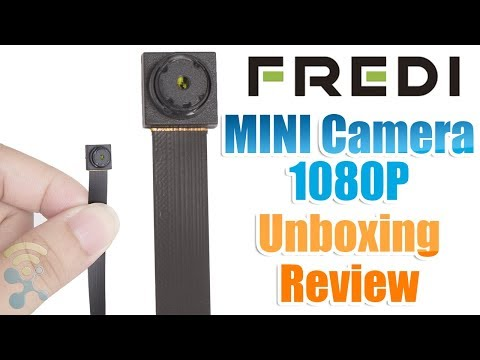 FREDI HD MINI Camera 1080P Wireless : Unboxing & Review