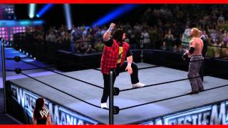 wwe-2k14-entrances-a-finishers-videos-mick-foley-a-ted-dibiase