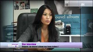Anggun on Absolument Stars 13/11/11