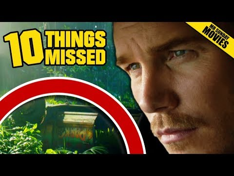 JURASSIC WORLD: FALLEN KINGDOM Official Trailer Breakdown - Things Missed & Easter Eggs