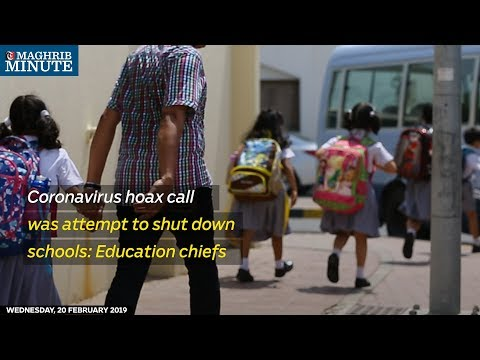Coronavirus hoax call was attempt to shut down schools: Education chiefs