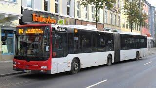 preview picture of video '[Sound] Bus MAN NG 323 (Wagennr. 8344) der Rheinbahn AG Düsseldorf'