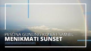Menikmati Pesona Gunung Klabat dari Bukit Waleposan Lembean Minahasa Utara