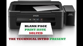 Download Video EPSON L3110,L3100,L3150 Problems|Red Light Error