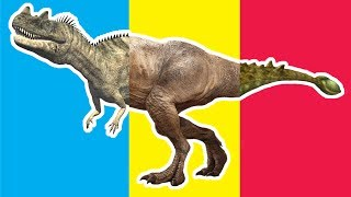 Wrong Heads Dinosaurs! Match Up Game Ankylosaurus Ceratosaurus Triceratops Tyrannosaurus Rex Crying
