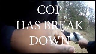 Deputy Has Mental Breakdown During Standoff, EMT Takes Gun