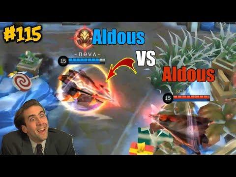 Mobile Legends WTF | Funny Moments Episode 115: Aldous Vs Aldous