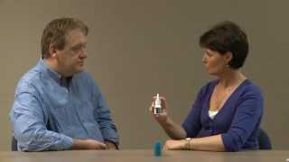 How to use a Nasonex nasal inhaler spray