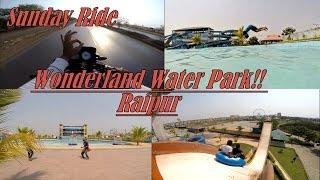 Wonderland Water Park | Sunday Ride | Bhilai | Raipur | Apache RTR 160 | Nomadic Soul