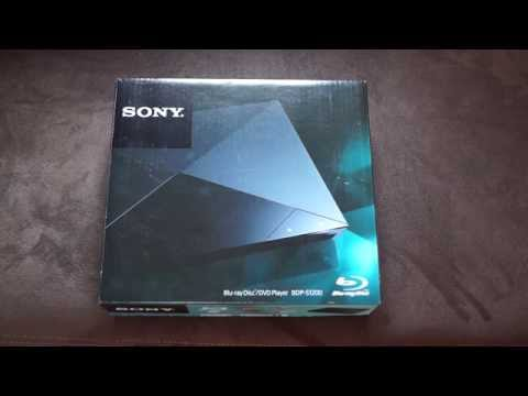 Review: Sony BDP-S1200 Blu-Ray Player Hands on Deutsch [Super HD View]