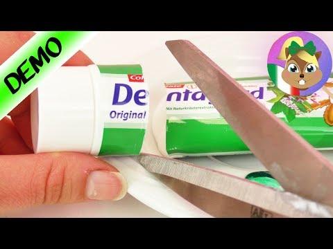 Perchè ci sono le strisce nel dentifricio? Scopriamo come si realizzano!