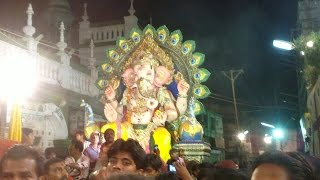 preview picture of video 'Ganesh festival akola at mohammad ali road akola'