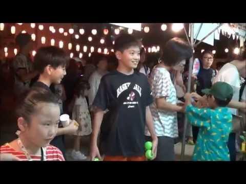 日吉連合盆踊り大会 日吉小学校 2016