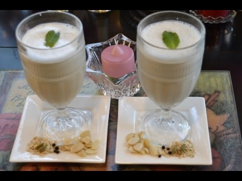 Video Thandai- Ramadan Drink  Recipe