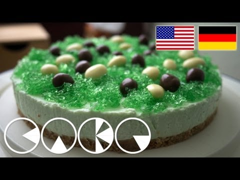 GRÜNE WIESE TORTE Rezept - GREEN MEADOW TART Recipe
