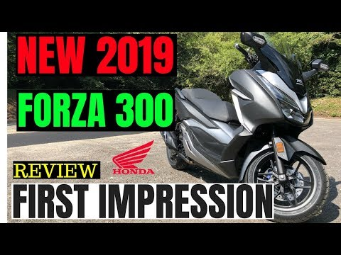 2019 HONDA FORZA 300 | Review | first impression